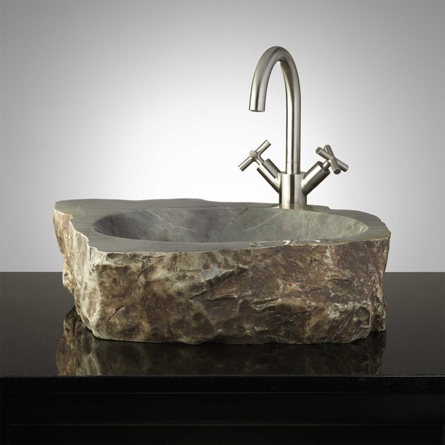 natural stone bathroom sinks seacoast vessel sink traditional 19710