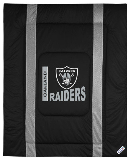 Sports Coverage Nfl Oakland Raiders Comforter Sidelines