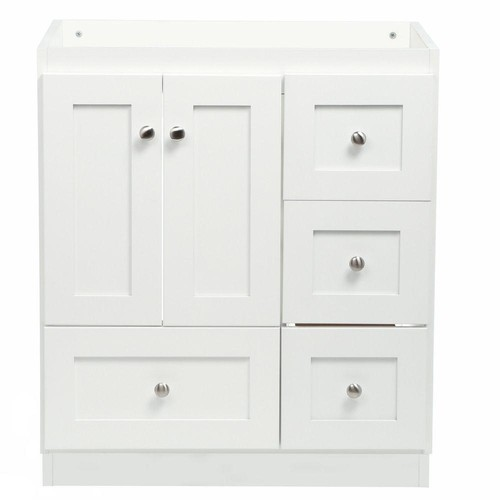 30 Bathroom Vanity Drawers what size undermount sink for strasser simplicity 30 inch bath vanity?