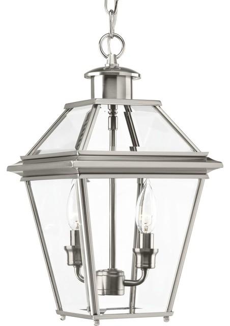 Burlington 2-Light Hanging Lantern - Transitional - Outdoor ...