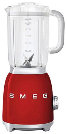 Smeg Retro Style Blender, Red