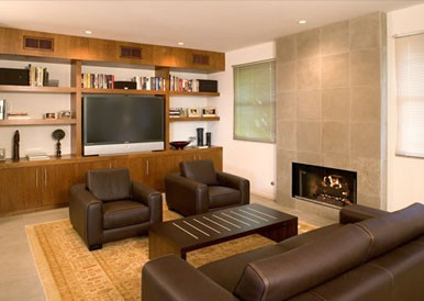 Ehrenclou Architects Contemporary Living Room. Designing Home Where To Put  Your Tv