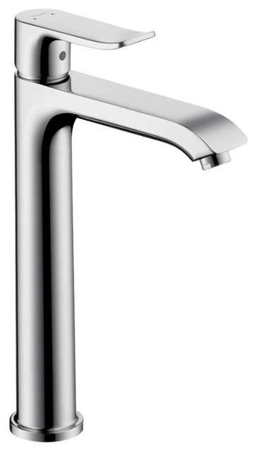"""Hansgrohe Metris 0001 Faucet, Chrome, 2""""x7""""x12"""""""