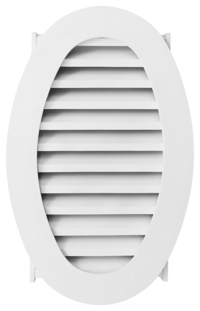 Oval Louver Vent Transitional Registers Grilles And