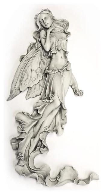Brianna The Summer Breeze Fairy Wall Sculpture.