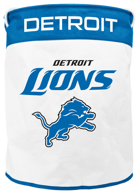 Detroit Lions Canvas Laundry Bag.