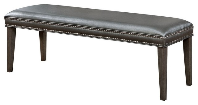 Sturgis Bench, Dark Gray.