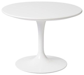 Knoll Kids Round Tulip Side Table White Modern Kids Tables And - Kids tulip table