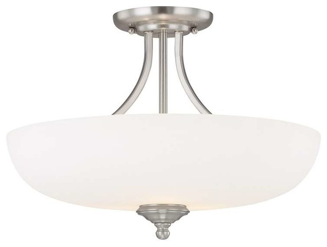 Capital Lighting Chapman Transitional Semi Flush Mount Ceiling Light X-Ws-Nm7493.