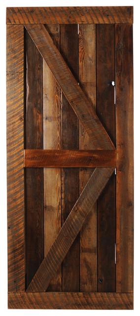 Big Wood Horn Door Rustic Interior Doors By Big Sky