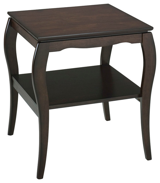 office star brighton end table traditional side tables