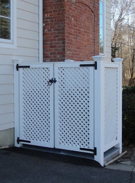 Perfect Cedar Lattice Screens and Enclosures - Bridgeport - by West  XM46