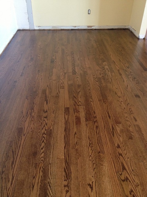 Floor Stain Color Help Please Coffee Brown