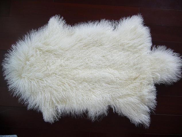 Tibetan Lamb Fur Rug