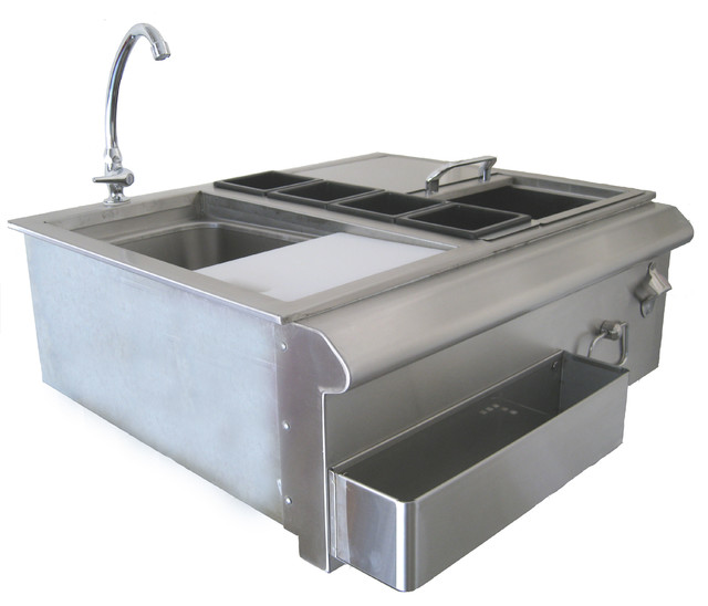 """Beefeater 30"""" Bar Center With Sink."""
