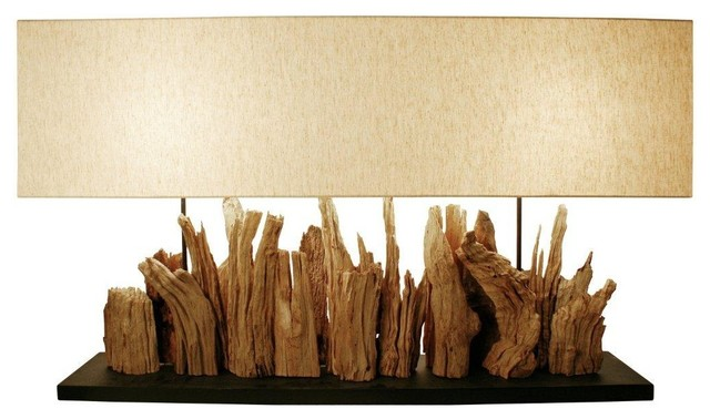 rustic table lamps canada driftwood lamp for bedroom metal uk