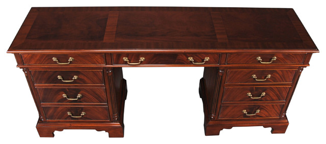 Superb Niagara Furniture, Mahogany Credenza Traditional Desks And Hutches