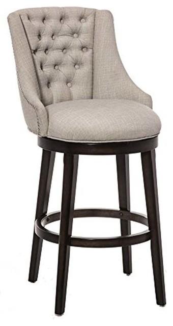 Outstanding Halbrooke Swivel Stool Bar Height Uwap Interior Chair Design Uwaporg