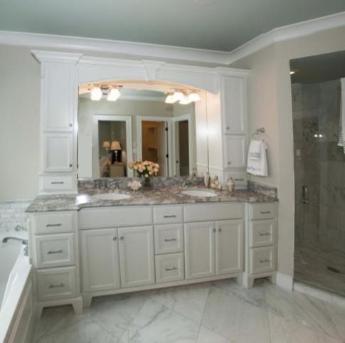 Long Narrow Bathroom Vanity