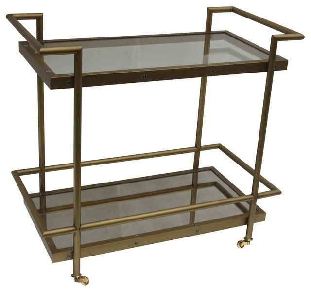 Tea Cart Contemporary Bar Carts By Shopladder