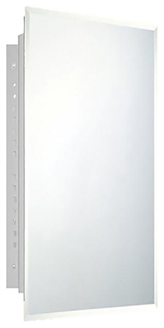 "Deluxe Series Medicine Cabinet, 16""x30"", Beveled Edge, Recessed"