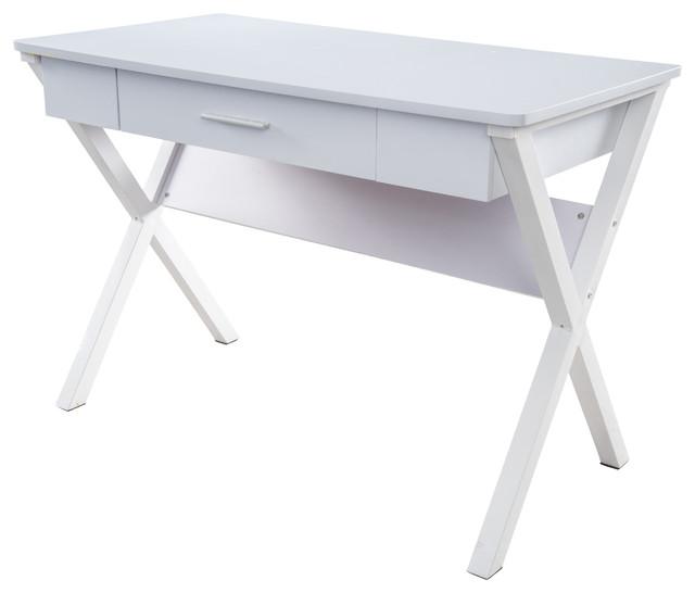 denise austin monte computer desk - contemporary - desks and