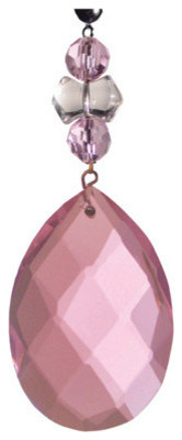 Light Charms, Pink Faceted Almond contemporary-decorative-objects-and-figurines