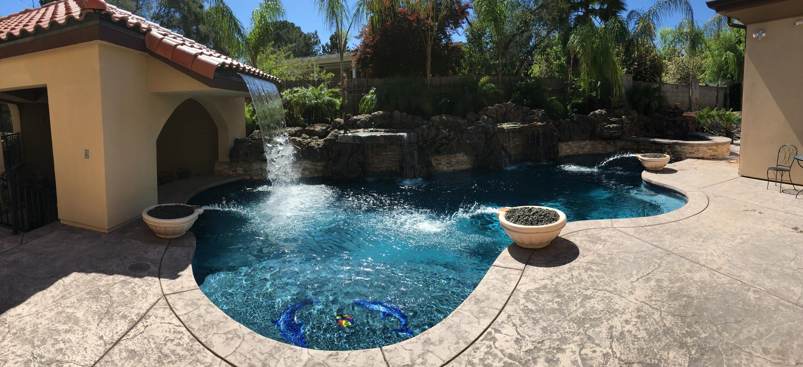 Backyard retreat, Fair Oaks