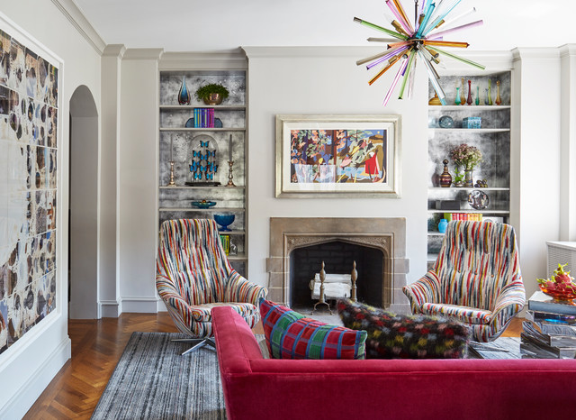 Art Deco Condo Infused With Color Art And Whimsical Decor