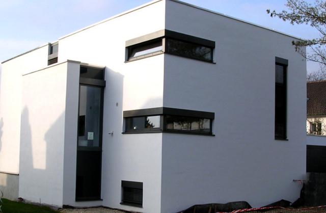 hausfassade seitenansicht 3. Black Bedroom Furniture Sets. Home Design Ideas