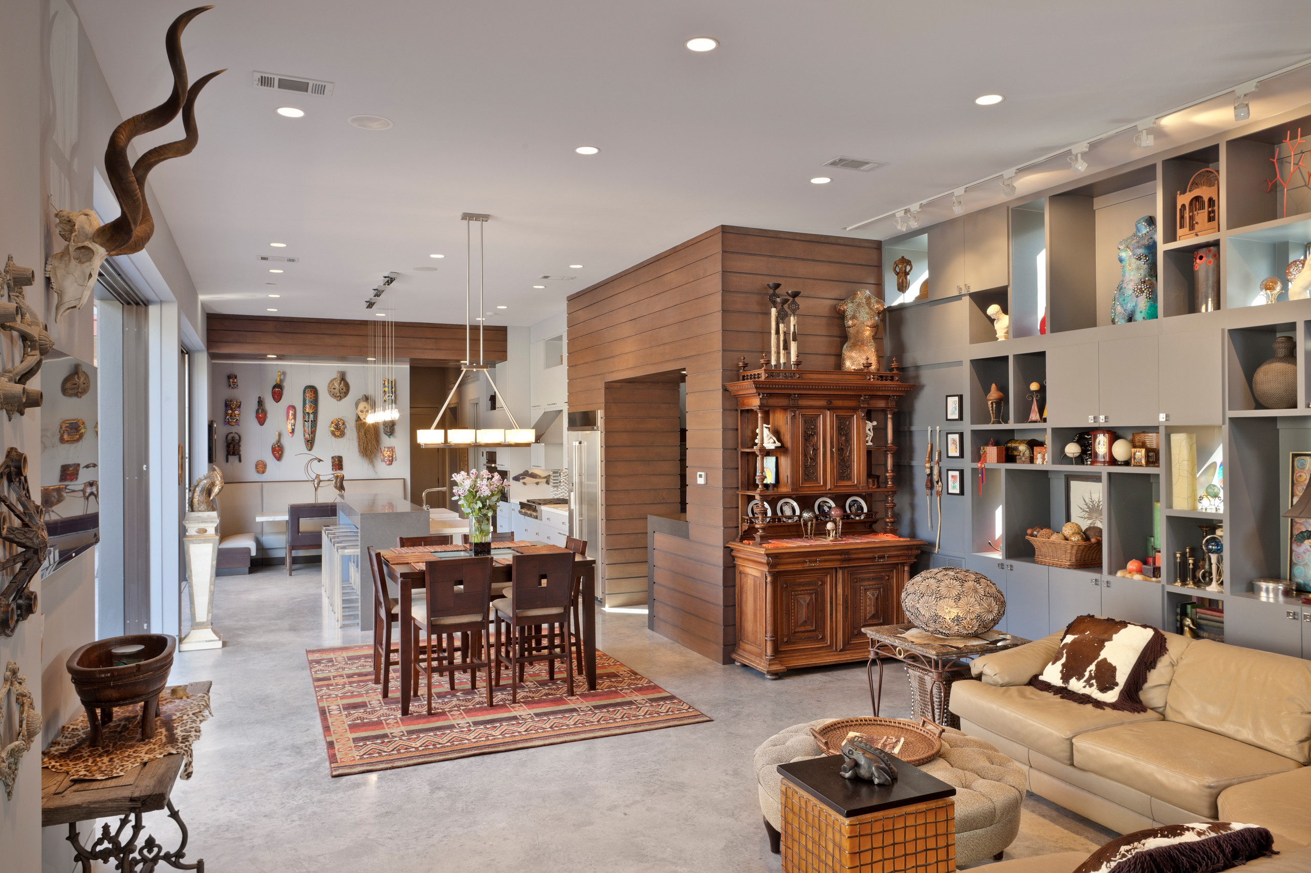 Heights Eclectic New Home