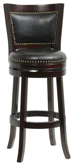 29 Quot Bristol Swivel Stool Cappuccino Traditional Bar