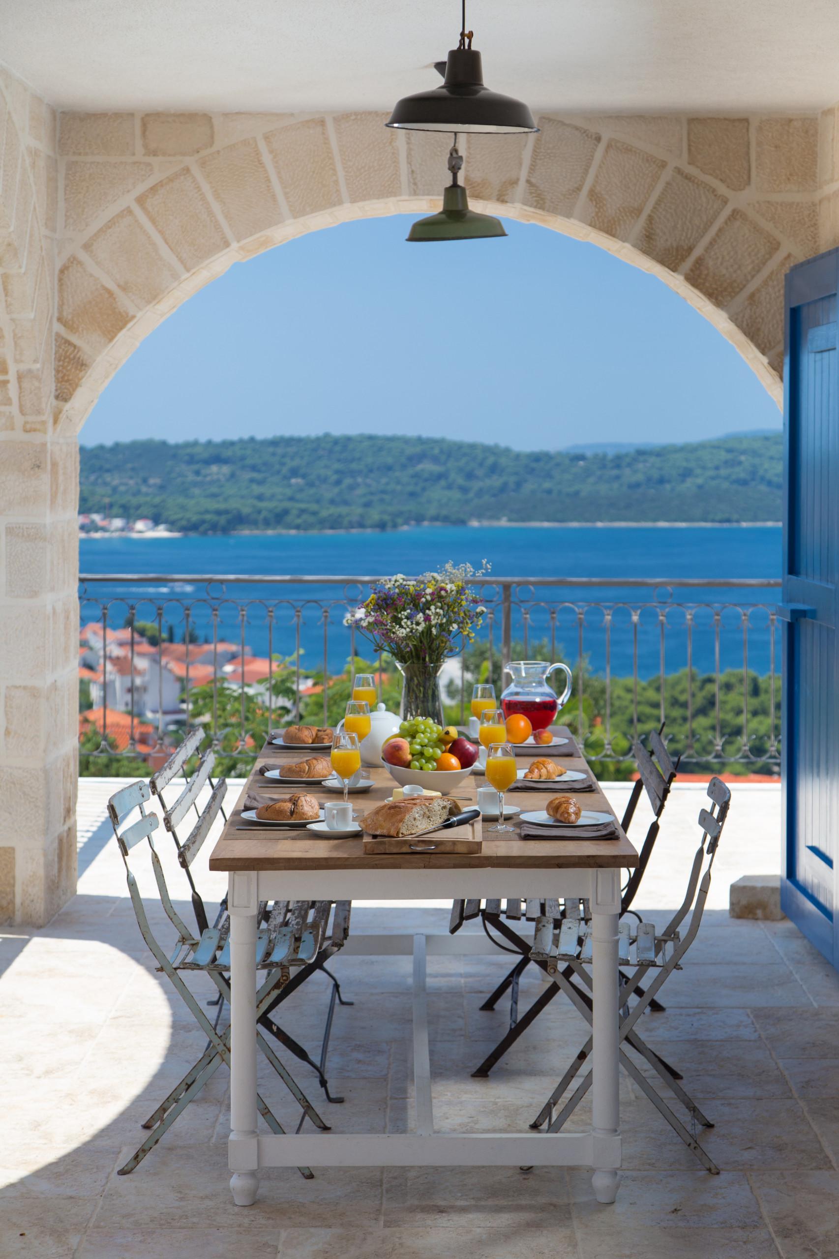 Croatie : Maison de vacances en bord de mer