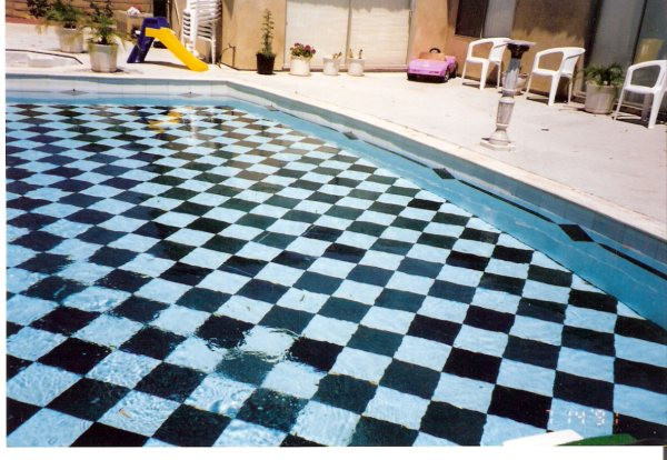Apex Marble fully lined marble pool