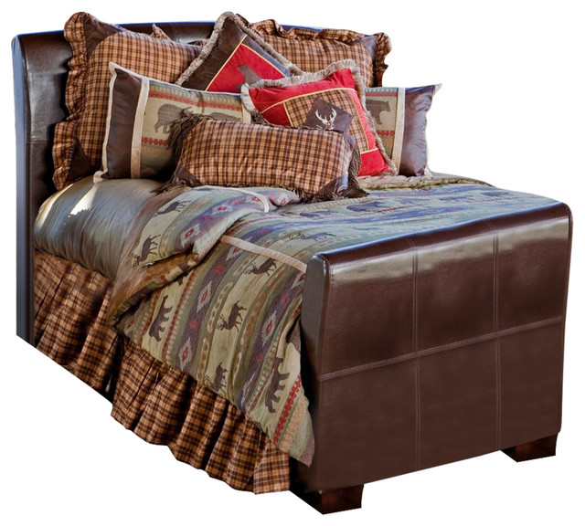 heartland striped wildlife bedding set twin sets