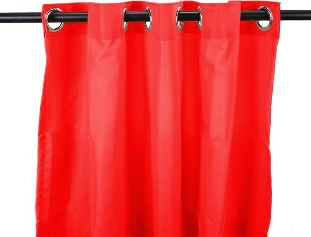 Outdoor Curtain Panel, Cherry.
