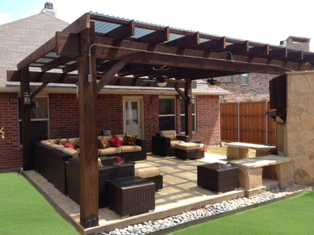 Patio Pergola Project 310 12x12 With 8x8 Posts