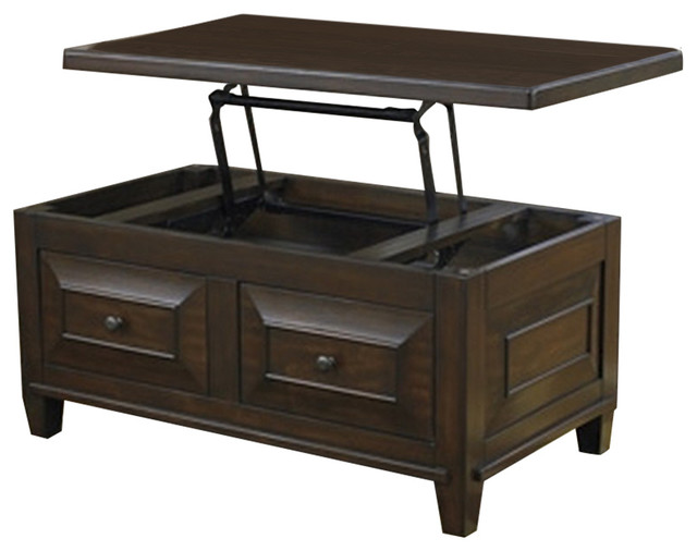 ashley lift top cocktail table hindell park rustic brown coffee tables by zfurniture. Black Bedroom Furniture Sets. Home Design Ideas