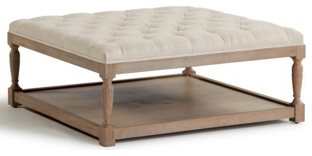1st Avenue   Huntingdon Upholstered Bench, Gray   Footstools And Ottomans