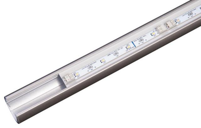 "Sempria LED Lighted Closet Rod, Satin Nickel, 42"", 2700 Kelvin"