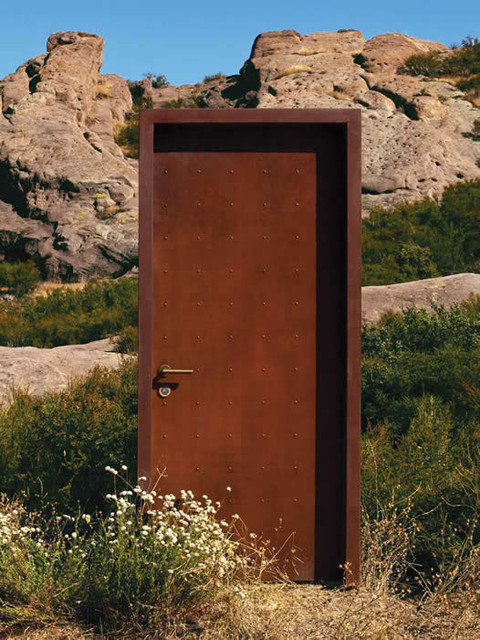 Bon ERA (aka Corten) Finish Fullback Door Modern