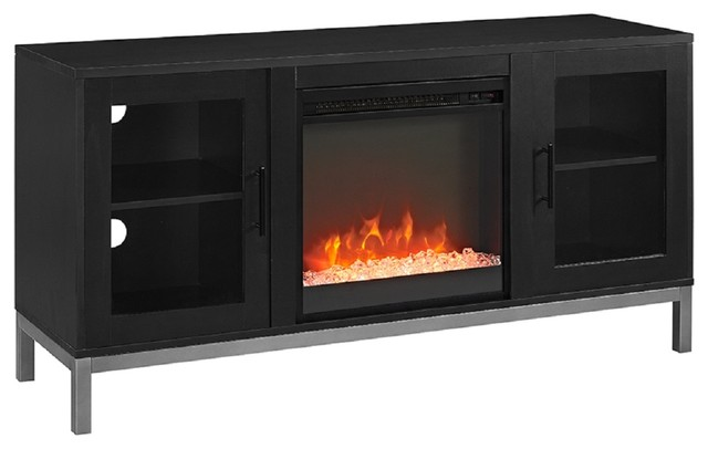 52 Quot Avenue Fireplace Tv Console With Legs Contemporary