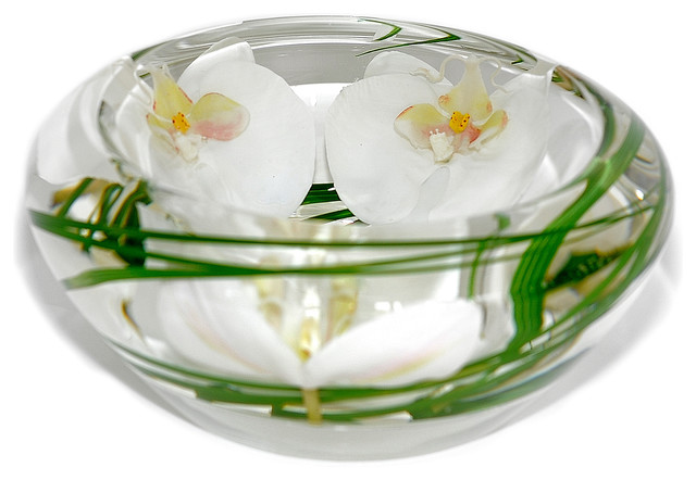 Emilio Robba Glass Flower Bowl View In Your Room Houzz