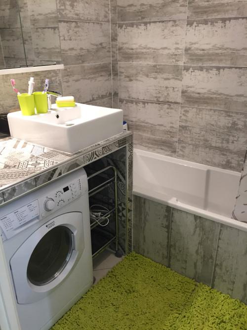 meuble salle de bain machine a laver. refaire une salle de bain ... - Meuble Salle De Bain Machine A Laver