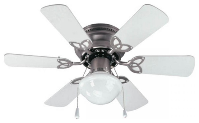 """== Canarm Calibre 48/"""" Brushed Pewter Indoor Ceiling Fan With Light Kit Remote"""