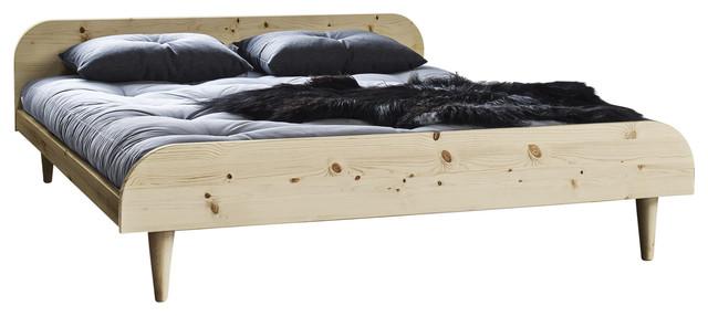 Twist Futon Bed Natural Euro Double