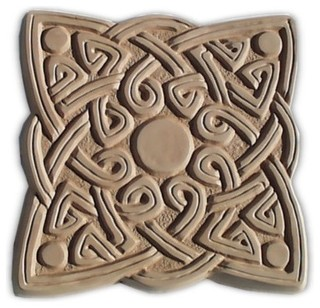Celtic Square Stepping Stone Mold