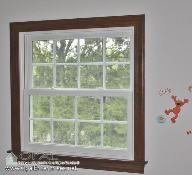 Andersen A Series U0026 100 Series White Windows, Wood Interior Trim In St  Charles Traditional