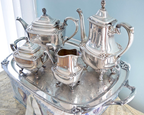 & Do you have a silver tea set?