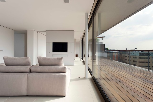 Bridge Apartments Contemporary London By Foster Lomas